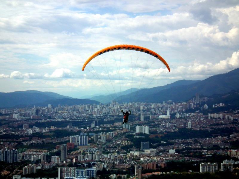 Paragliding Bucaramanga Colombia
