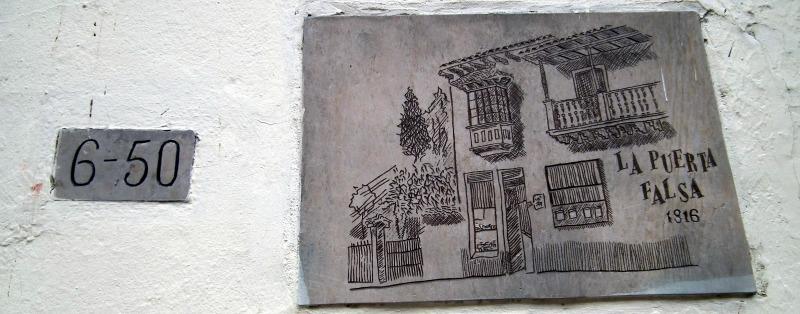 La Puerta Falsa Bogota