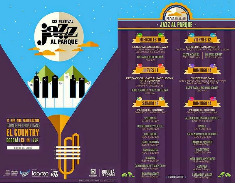 Jazz al Parque Lineup 2014