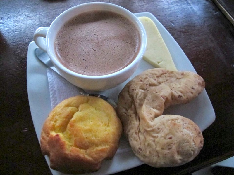 Hot Chocolate Cheese Colombia