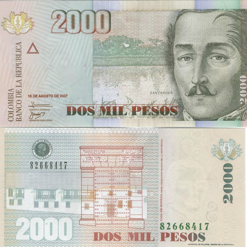 Colombian Currency Explained Colombia