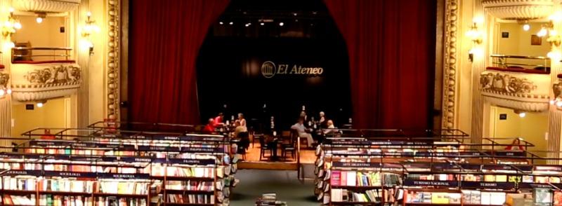 la mejor libreria del mundo ateneo gran splendid