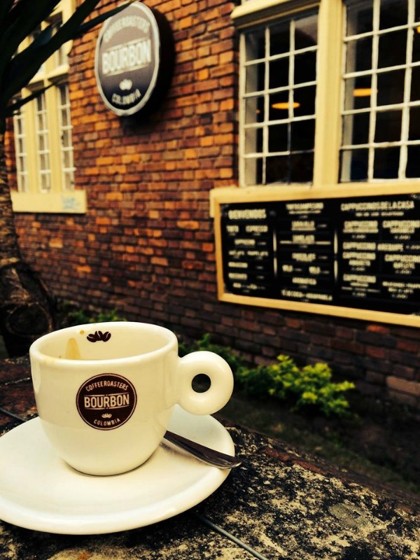 Bourbon coffee Bogota