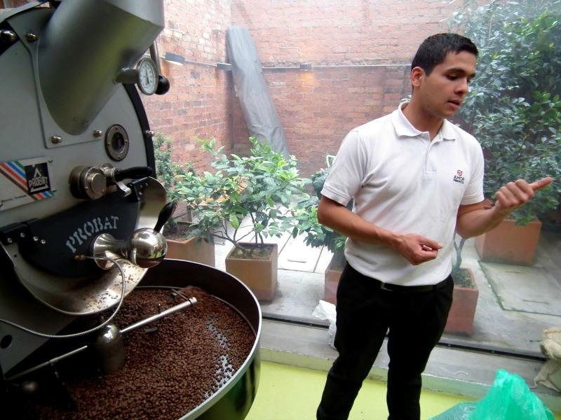 National Colombian barista champion