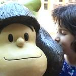 El Monumento a Mafalda en San Telmo, Buenos Aires. [VIDEO]