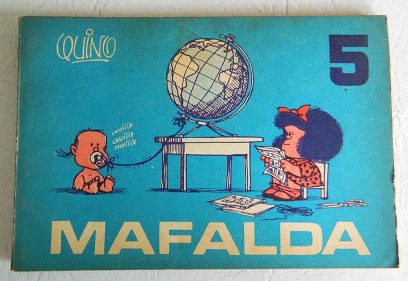 Moumento a Mafalda en San Telmo , Mafalda 5
