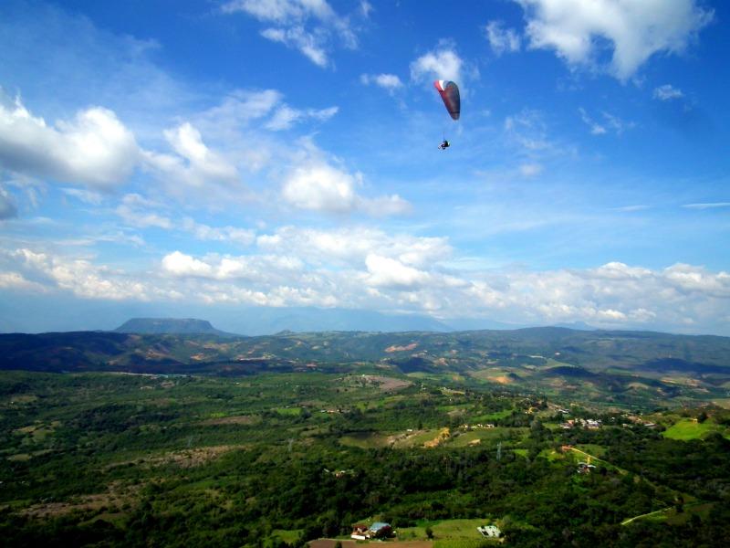 Paragliding Santander Colombia