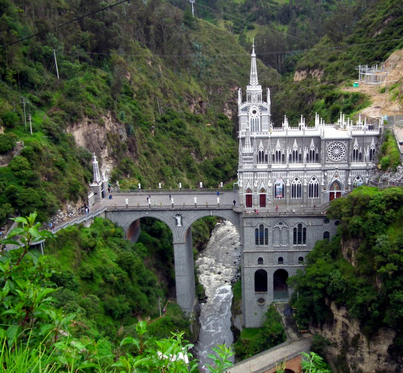Las Lajas Church Colombia