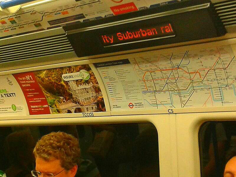 Colombianos en Londres Metro