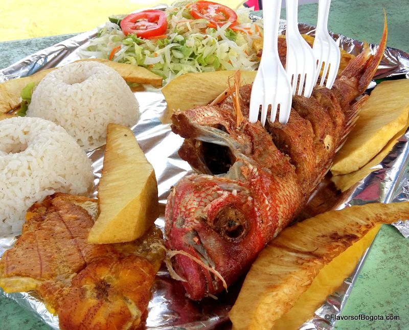 San Andres food