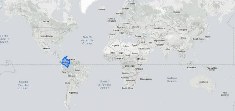 How big is Colombia really?