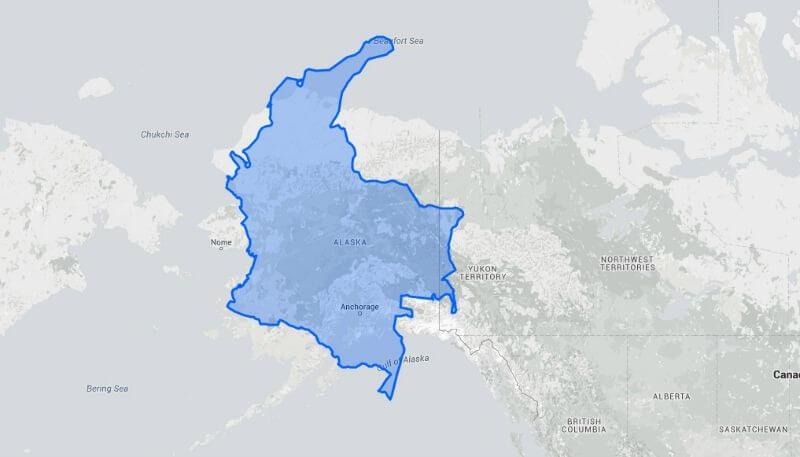 Colombia vs. Alaska