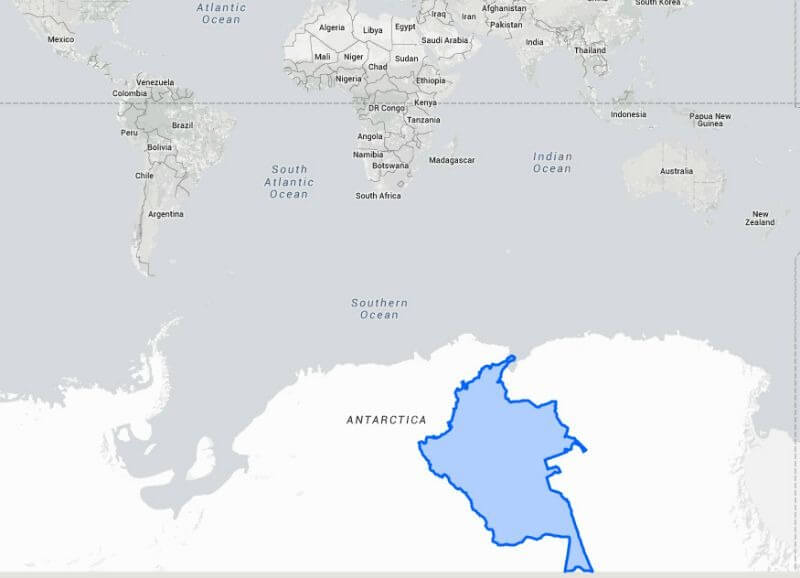 Colombia vs. Antartica