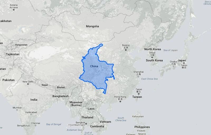 Colombia vs. China