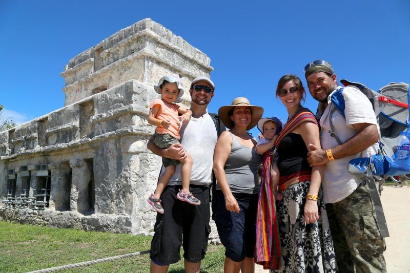 Viaje en familia a Tulum