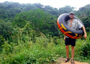 Tubing in Palomino Colombia