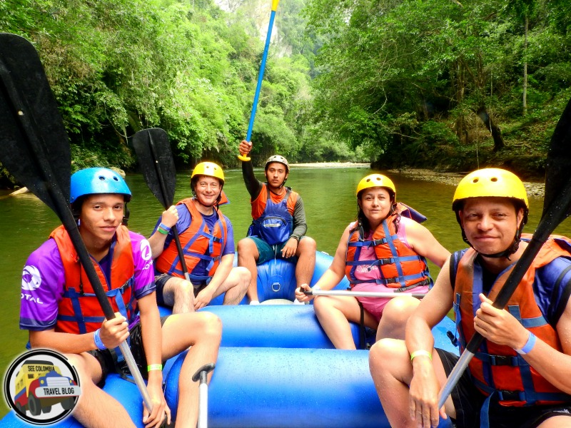 rafting rio claro colombia