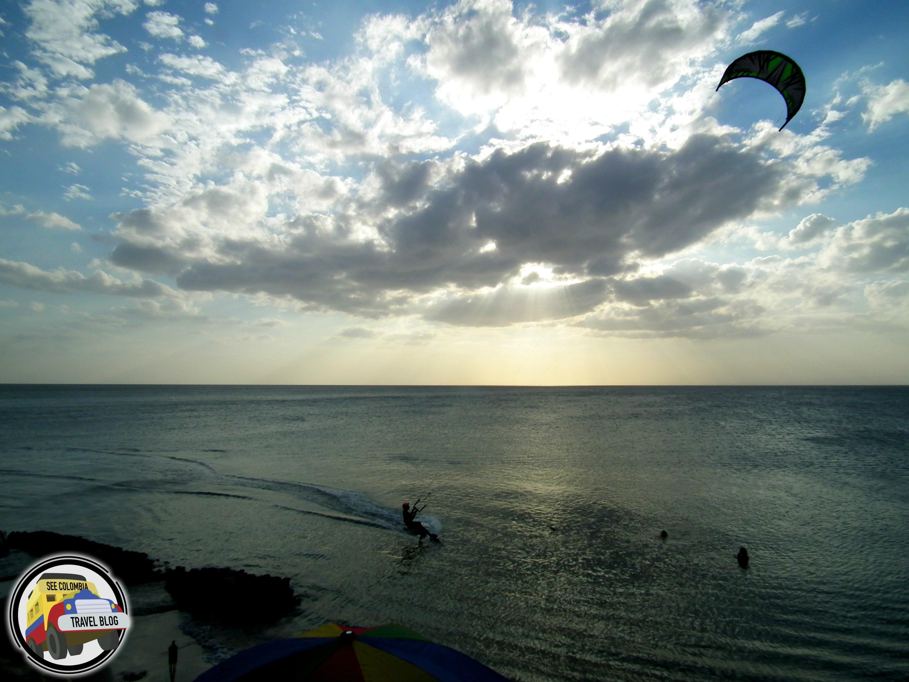 kite surfing cabo de la vela colombia