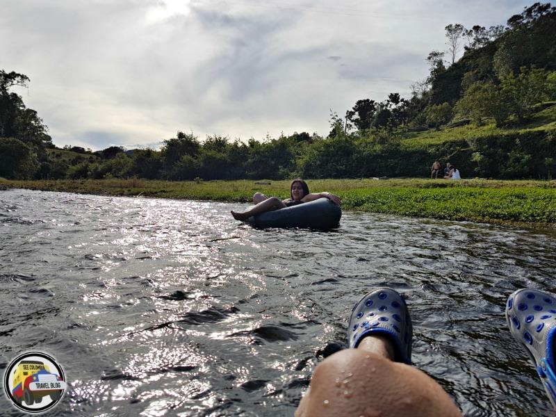 tubing rio frio tamesis antioquia