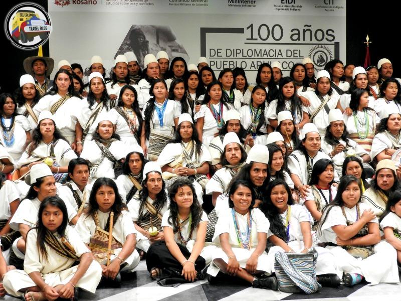 arhuaco march bogota