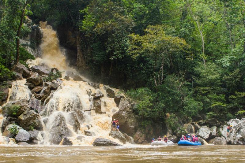 samana river rafting colombia