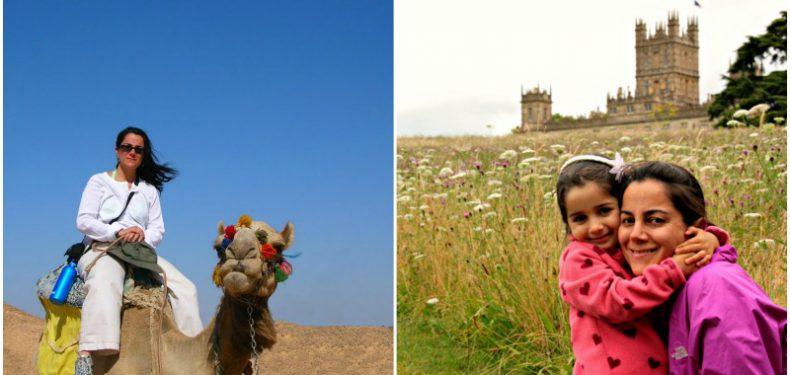 Mama viajera de Egipto a Inglaterra