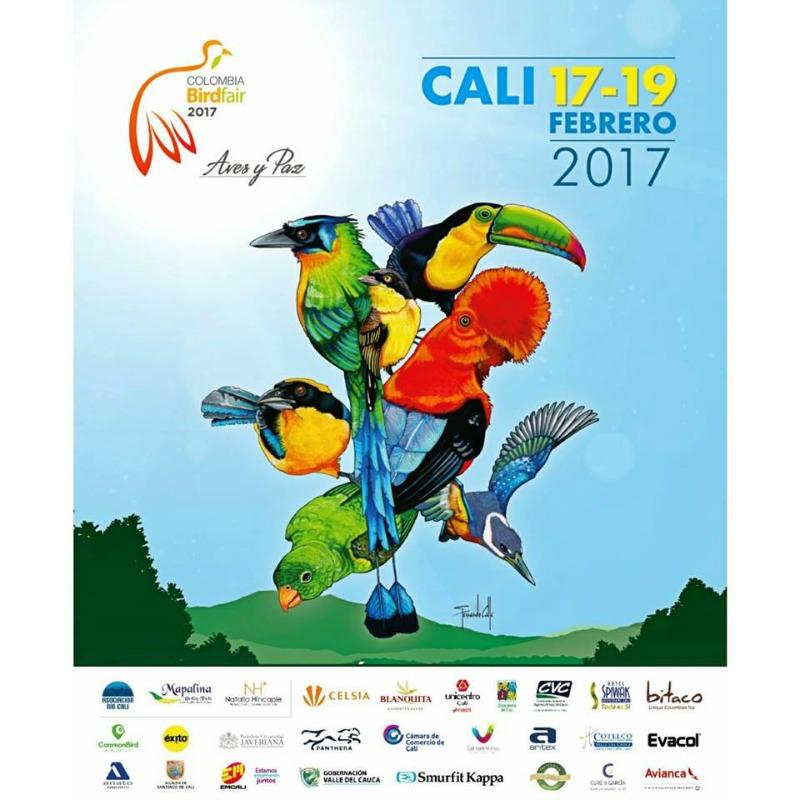colombia birdfair cali 2017