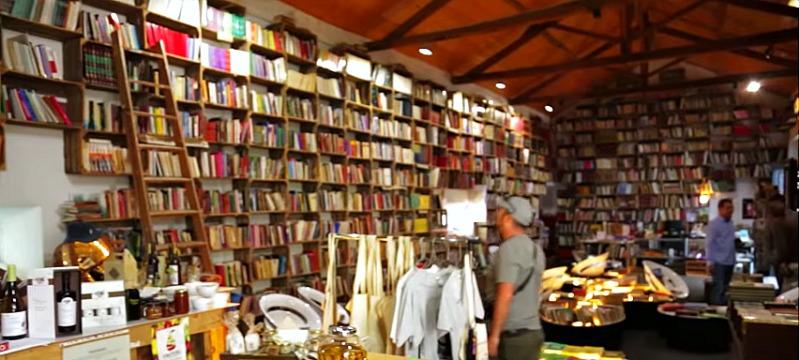Livraria da Mercado en Obidos