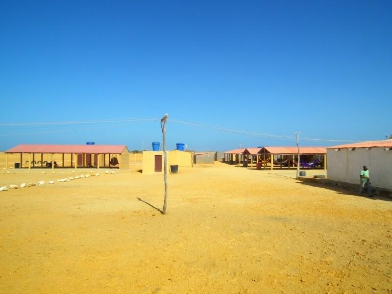 Donde quedarse en Punta Gallinas