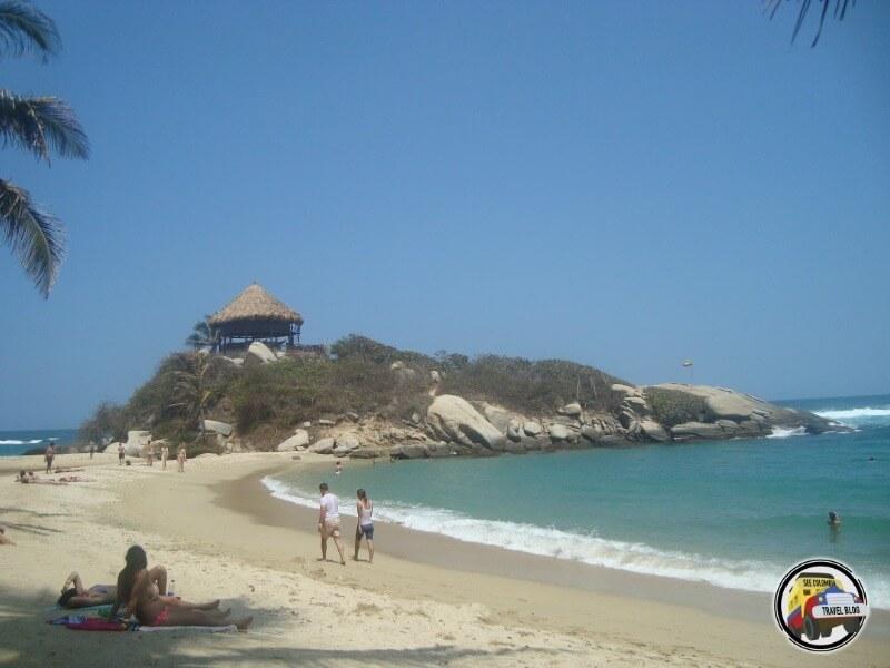 Beach Tayrona Caribbean Colombia