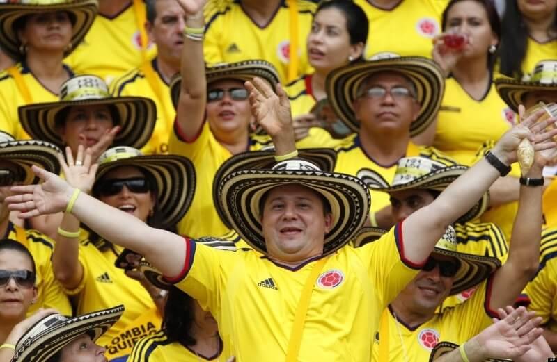 Happy Colombians