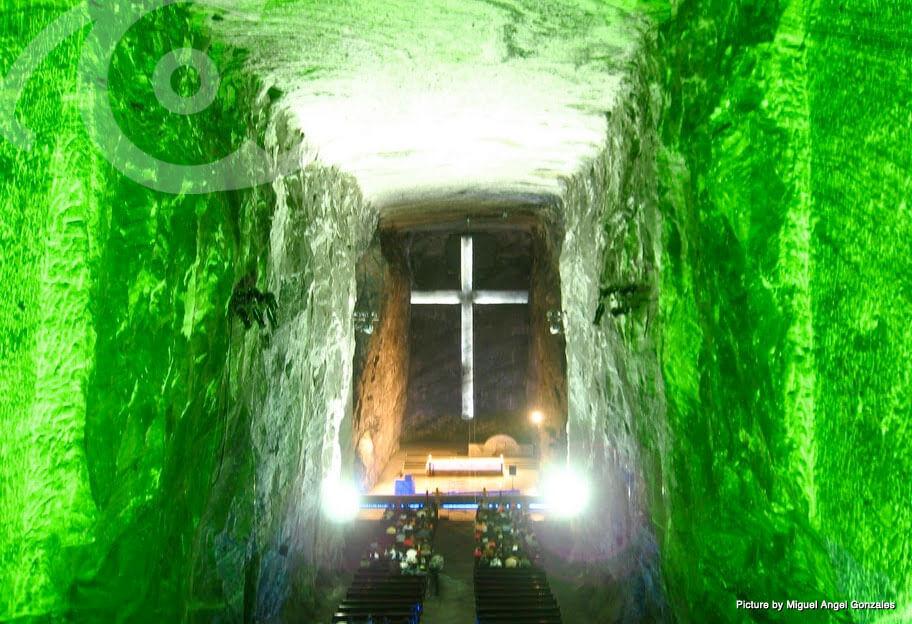 Dentro de la Catedral de Sal, Zipaquirá