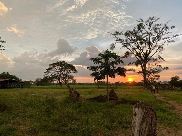 Sunset in Urabá